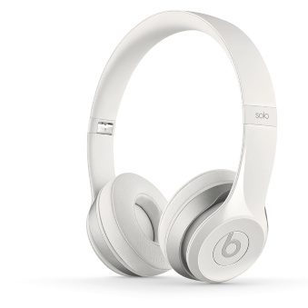 Beats Solo 2 Headphones - White
