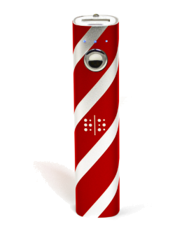 Random Order 2800 mAh Portable Power Bank - Red & Silver