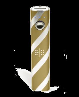 Random Order 2800 mAh Portable Power Bank - Gold & Silver