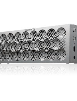 Jawbone® MINI JAMBOX™ Bluetooth Speaker | Silver Dot | Small and Portable Speaker