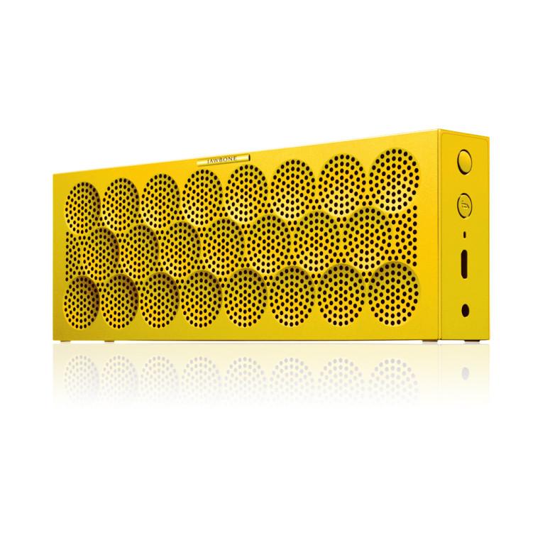 Jawbone® MINI JAMBOX™ Bluetooth Speaker | Yellow Dot | Small and Portable Speaker