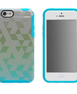 iPhone 6 M-Edge Glimpse Case - Aqua & Lime