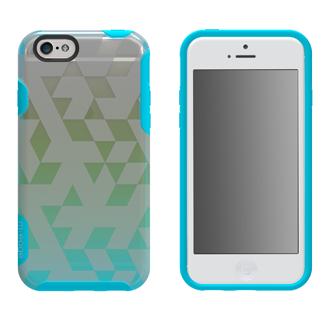 iPhone 6 M-Edge Glimpse Case - Aqua & Lime