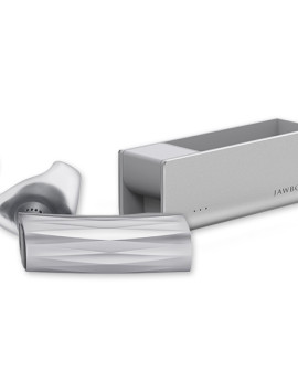 ERA™ by Jawbone® - Bluetooth Headset - Silver Cross with Charging Case