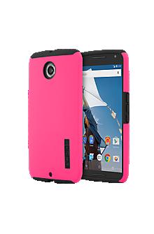 DualPro for Motorola Nexus 6 - Pink/Black