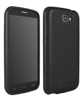 Alcatel OneTouch Fierce 2 Flex Protective Cover - Black