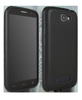 Alcatel OneTouch Fierce 2 Flex Protective Cover - Black