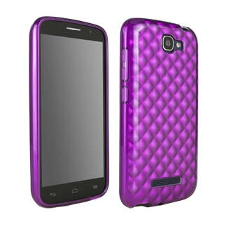 Alcatel OneTouch Fierce 2 Flex Protective Cover - Orchid