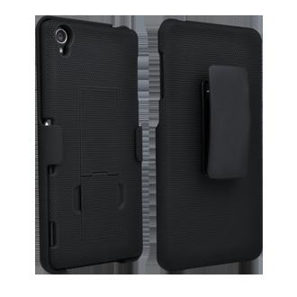 Sony Xperia Z3 Shell/Holster Combination - Black