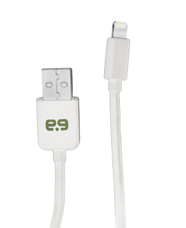 6-Foot Lightning Tip Charging Cable - White
