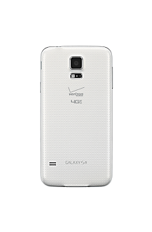 Standard Battery Cover for Samsung Galaxy S-5 - White