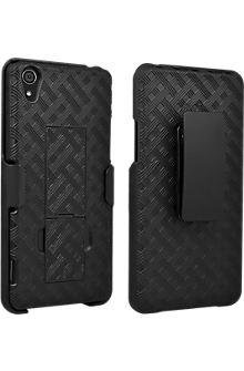 Shell Holster Combo with Kickstand for Sony Z3v