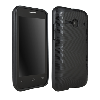 Alcatel OneTouch Evolve 2 Waves Protective Cover - Black