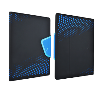 M-Edge Sneak Universal 10-inch Folio - Black & Blue