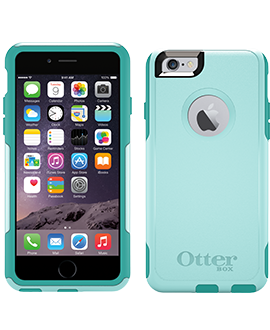 iPhone 6 OtterBox Commuter Case - Aqua Teal