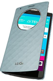 Quick Circle Folio Case for LG G4 - Aqua