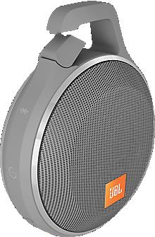 Clip+ Splashproof Bluetooth Speaker - Gray