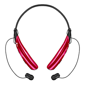 LG Tone Pro Stereo Bluetooth Headset - Pink