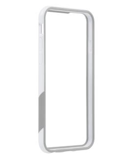 iPhone 6 TAVIK Outer Edge Bumper Case - White & Grey