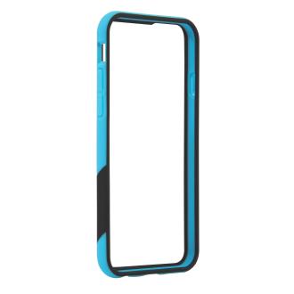 iPhone 6 TAVIK Outer Edge Bumper Case - Cyan & Black