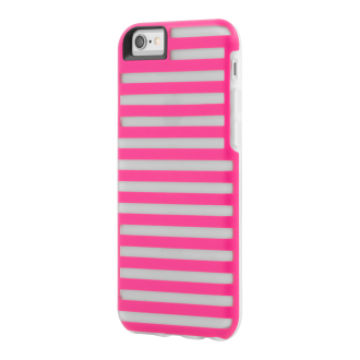 iPhone 6 TAVIK Hollow Case - Magenta & Clear