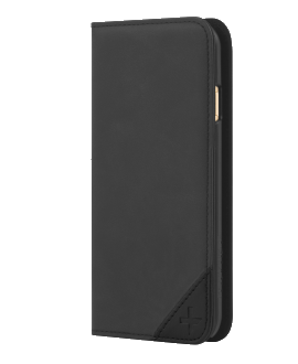 iPhone 6 TAVIK Lindan Wallet Case - Black Leather