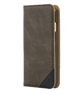 iPhone 6 TAVIK Lindan Wallet Case - Brown Leather