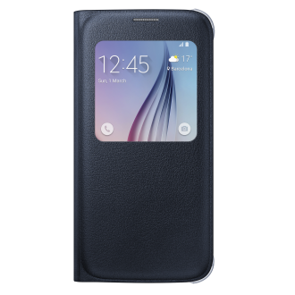 Samsung Galaxy S 6 S-View Cover - Black
