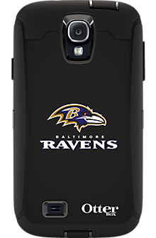 NFL Defender by OtterBox for Samsung Galaxy S4 - Baltimore Ravens