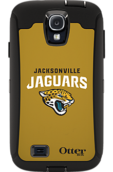 NFL Defender by OtterBox for Samsung Galaxy S4 - Jacksonville Jaguars