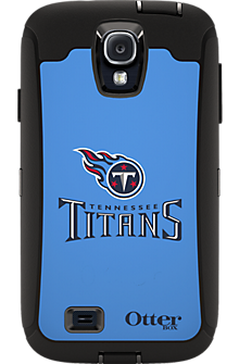 NFL Defender by OtterBox for Samsung Galaxy S4 - Tennessee Titans