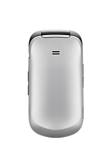 Battery Cover - Snow Silver for Samsung Gusto 2