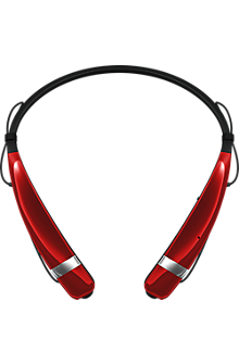LG Tone Pro Wireless Stereo Headset - Red