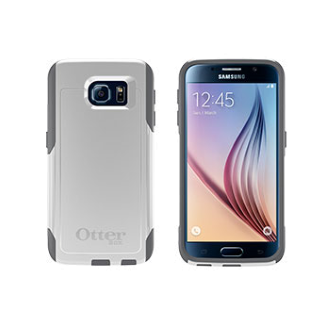 Samsung Galaxy S 6 OtterBox Commuter Case - Glacier
