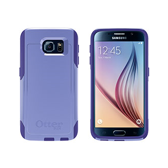 Samsung Galaxy S 6 OtterBox Commuter Case - Amethyst