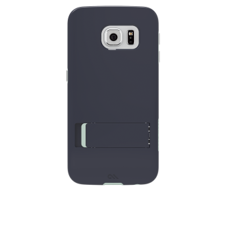 Samsung Galaxy S 6 edge Case Mate Tough Stand Case - Black & Charcoal