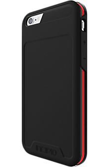 Incipio PERFORMANCE Series Level 5 for iPhone 6/6s- Black/Red