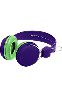 Girls DIY Headphones - Purple