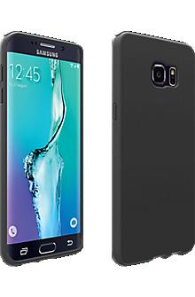 Silicone Cover for Samsung Galaxy S 6 edge+ - Matte Black