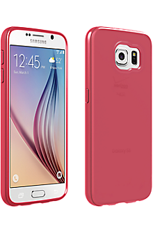 High Gloss Silicone Cover for Samsung Galaxy S 6 - Pink