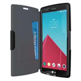 LG G4 Tech21 Evo Wallet Case - Black