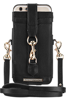 M.A.C. Phone Crossbody for iPhone 6/6s  - Black