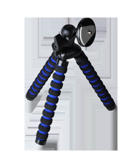 iBOLT Tripod Mini Pro With Remote - Black