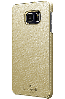Wrap Case for Samsung Galaxy S 6 edge+ - Gold