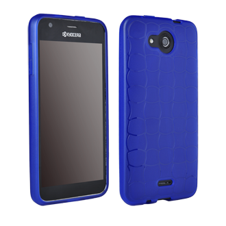 Kyocera Hydro WAVE Flex Protective Cover - Blue