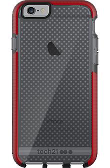 Evo Mesh for iPhone 6/6s - Smokey/Red
