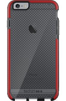 Evo Mesh for iPhone 6 Plus/6s Plus - Smokey/Red