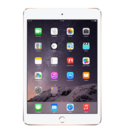 iPad mini 3 - Gold - 128GB