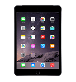 iPad mini 3 - Space Gray - 128GB - Prepaid