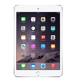 iPad mini 3 - Silver - 128GB - Prepaid